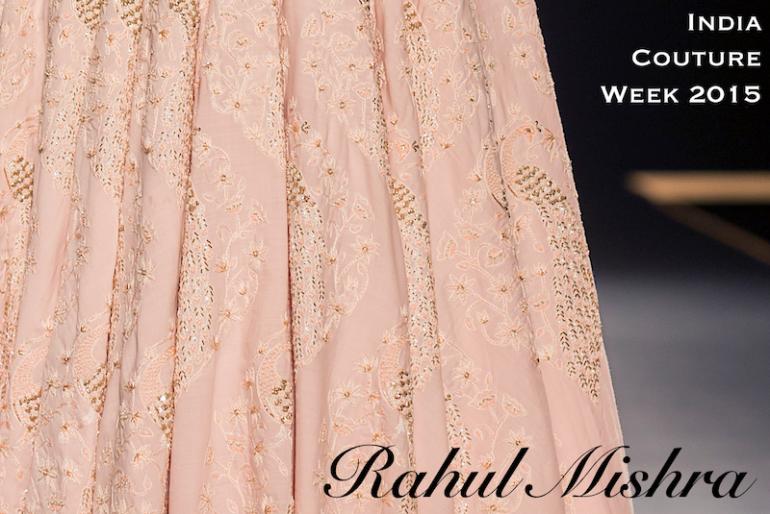 Rahul Mishra Amazon India Couture Week 2015