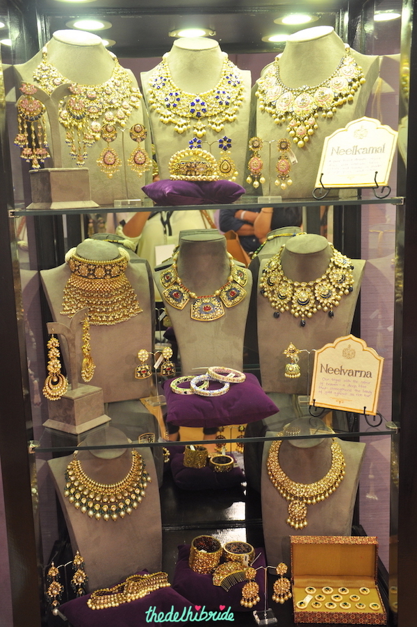 Sunita Shekhawat - Meenakari, Polki and Gold Jewellery Collection - Vogue Wedding Show 2015