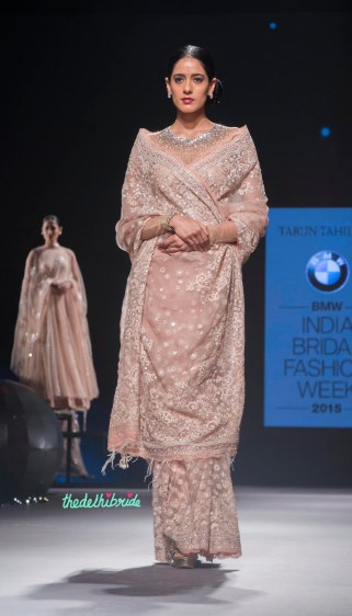Top Picks - Sheer net sari with embroidery 1 - Tarun Tahiliani - BMW India Bridal Fashion Week 2015