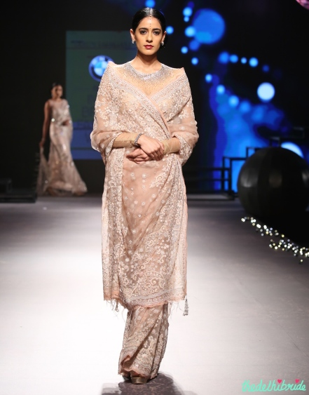 Top Picks - Sheer net sari with embroidery 2 - Tarun Tahiliani - BMW India Bridal Fashion Week 2015