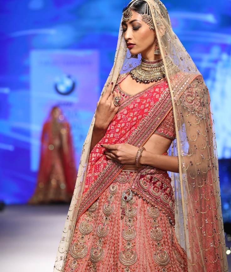 Tarun Tahiliani at BMW India Bridal Fashion Week 2015 ...