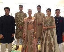 Anamika Khanna and Rohit Gandhi + Rahul Khanna