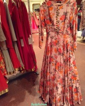 Bhumika Sharma - this floral anarkali is something I'd wear to my cousin's Sangeet. Yay or nay?