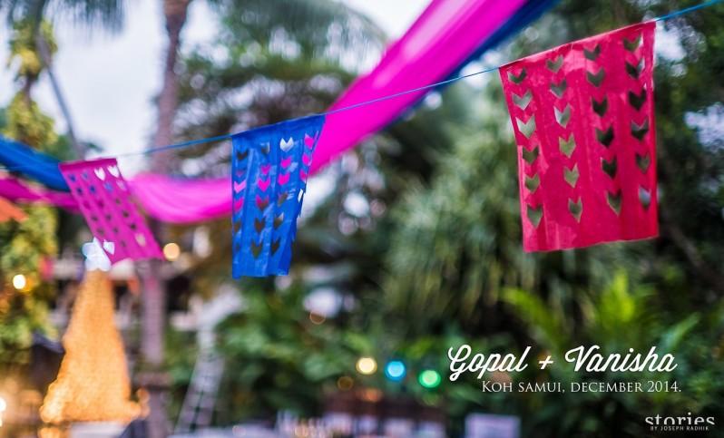 Gopal and Vanisha - Wedding planning tips for destination wedding in Thailand