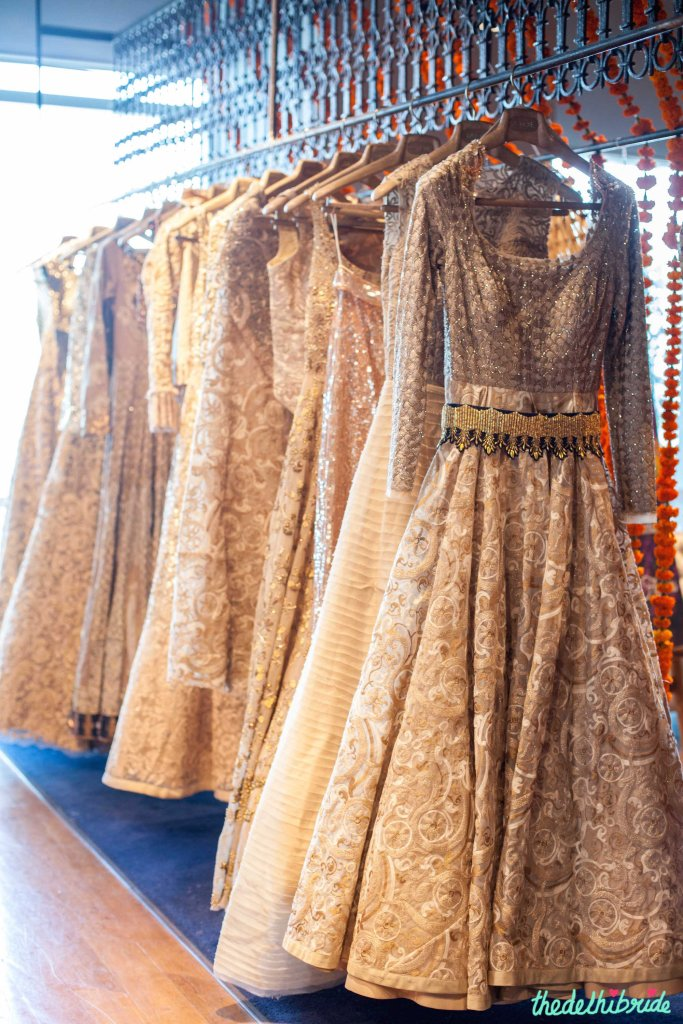 Ivory Outfits at JADE - New JADE M&K Couture Studio - Mumbai Review