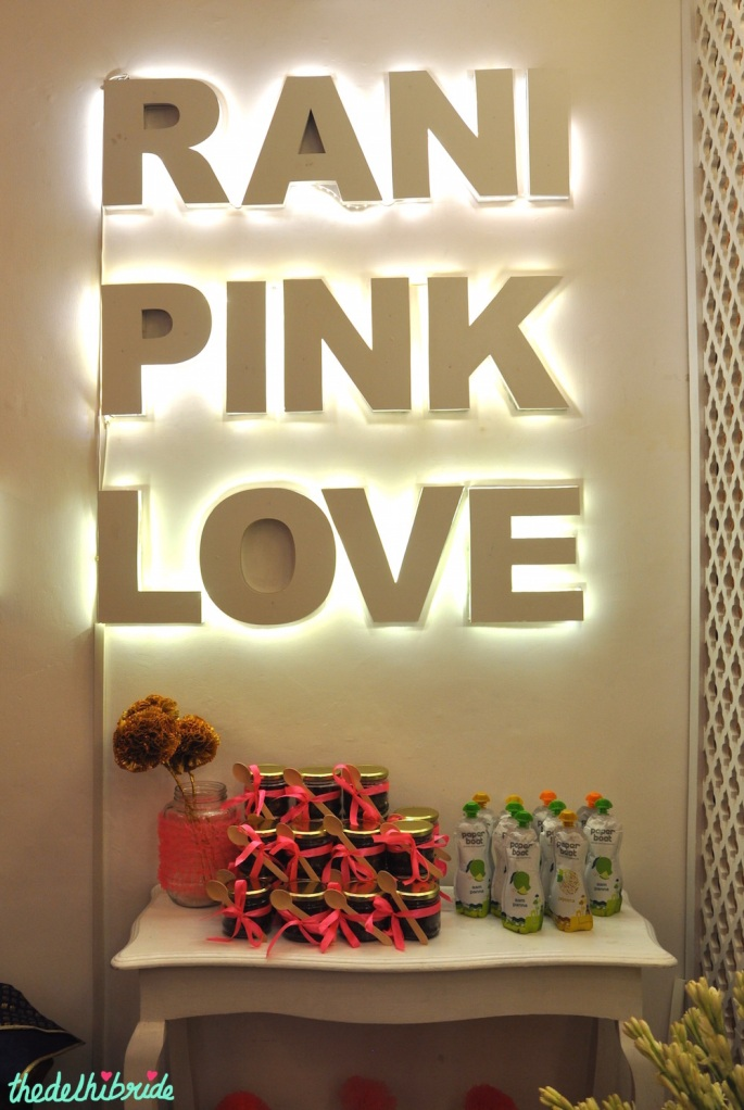 Rani Pink Love - Event Decor - Wedding Decor - Rani Pink