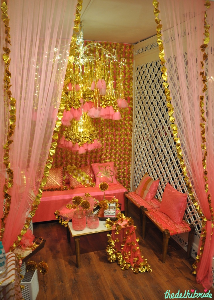 The Rani Pink Room - Pink and Gold Theme Decor - Event Decor - Wedding Decor - Rani Pink