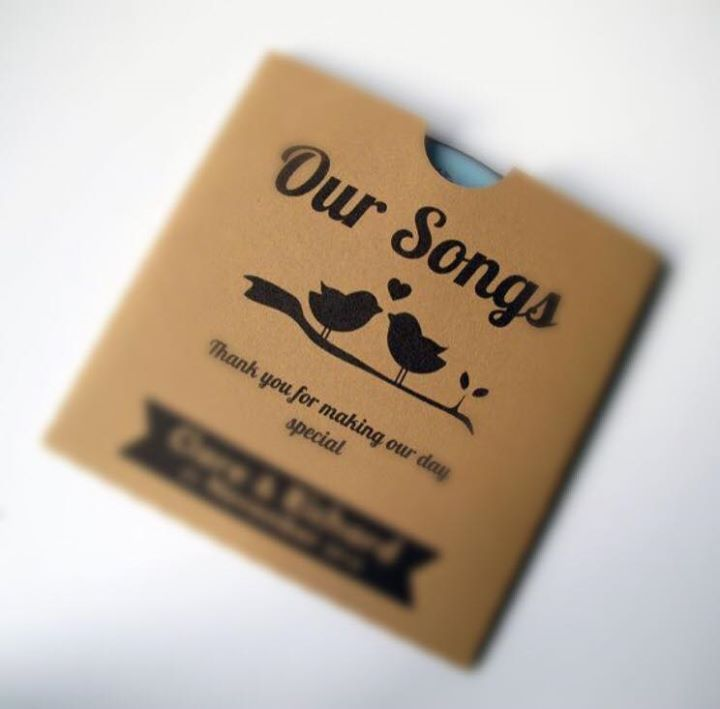 The Wedding Peeps - Destination wedding idea for guest welcome kit for music loving bride and groom - Best of weddings this week