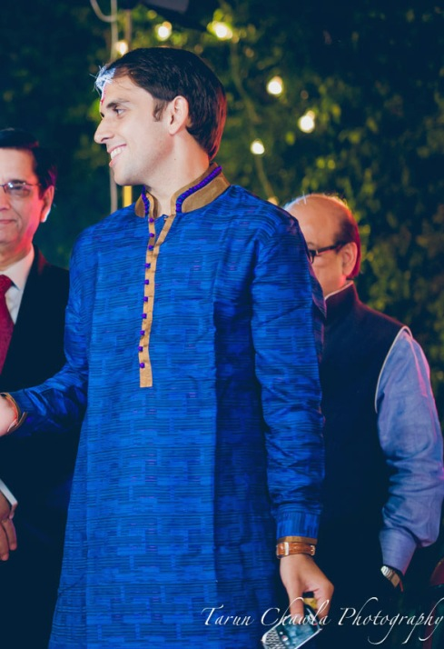 Heritage South Ex thedelhigroom Sangeet kurta - what groom should wear on Sangeet | Guide to Bridal & Festive Shopping at South Ex Market Delhi