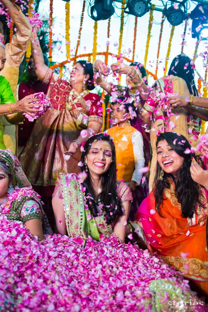 How to organise a Brij Holi | Shonan & Adesh wedding