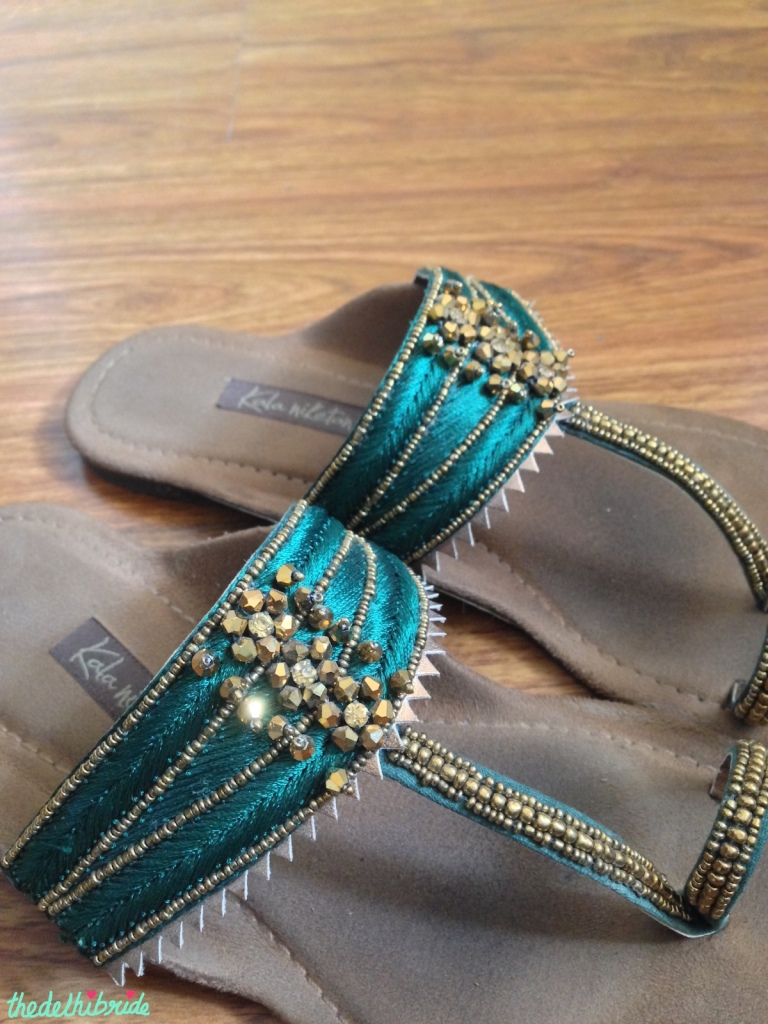 Kala Niketan kohlapuri sandals - where to buy footwear in South Ex | Guide to Bridal & Festive Shopping at South Ex Market Delhi
