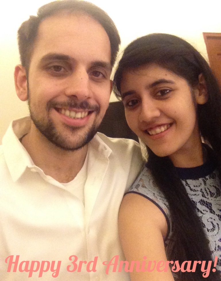 Anniversary dinner date selfie - Gateway Resort Damdama Lake 2 Day Anniversary Trip Couples Staycation | Quick Getaways from Delhi for couples anniversary celebration