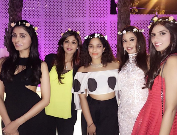 Bridal Shower - Floral tiaras - Bridal shower idea - Masaba Gupta and Madhu Mantena wedding 2015
