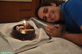 Cake & gift time!