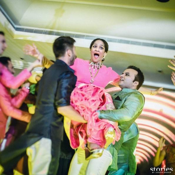 Sangeet - Candid shot by Joseph Radhik - Masaba Gupta and Madhu Mantena wedding 2015