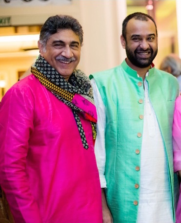 Sangeet - Madhu Mantena in mint green jacket - Masaba Gupta and Madhu Mantena Wedding 2015