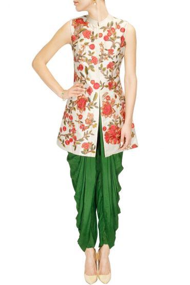 Dhoti with jacket - Aharin India - What to wear to an Indian wedding