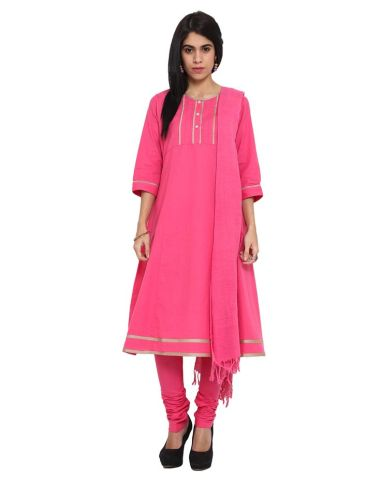 Ekmatra - Pink suit set - Meherchand market wedding shopping guide