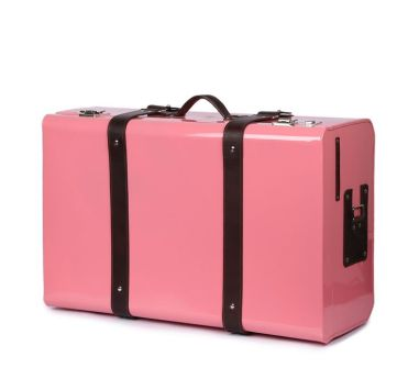 Nappa Dori - Pink classic trunk - Meherchand market wedding shopping guide