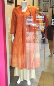 Ruh - Orange kurta with beige palazzos - Meherchand market wedding shopping guide