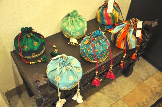 Tisha Saksena - Ethnic potlis - Meherchand market wedding shopping guide