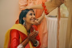 Aashirwaad & Mehendi - the ceremony - Anasuya Wedding Wardrobe