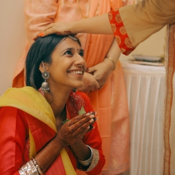 Aashirwaad & Mehendi - the ceremony - Anasuya Wedding Wardrobe