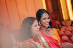 Sangeet - DIY Lehenga in yellow 2 - Anasuya Wedding Wardrobe