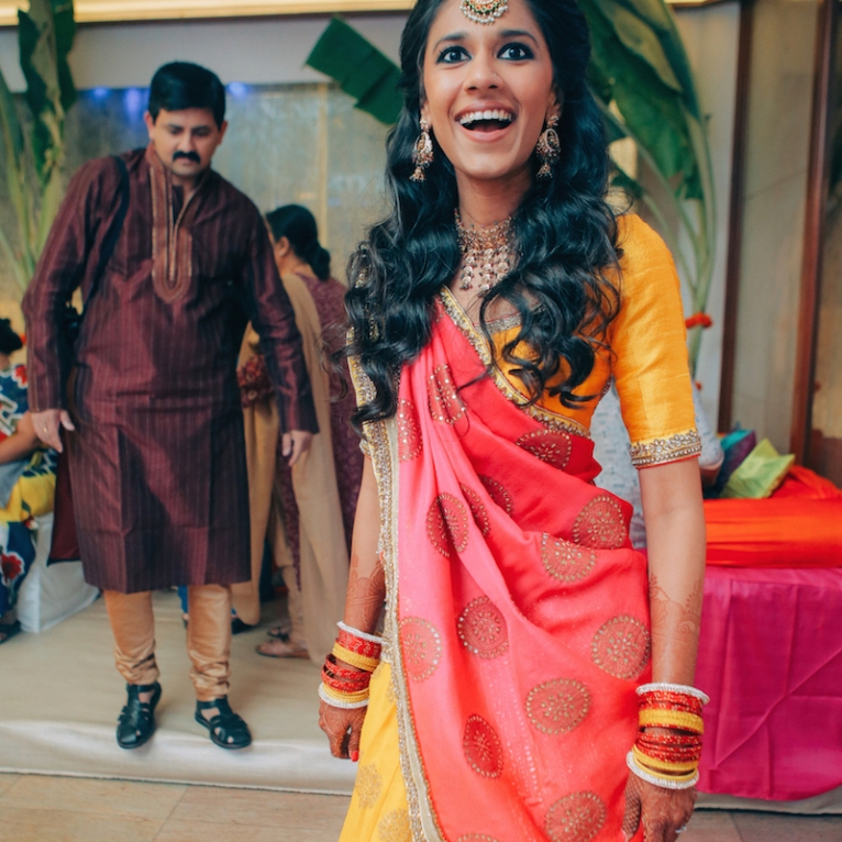 Sangeet - DIY Lehenga in yellow 5 - Anasuya Wedding Wardrobe