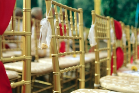Wedding - best ideas for rice throwing - Anasuya Wedding Wardrobe