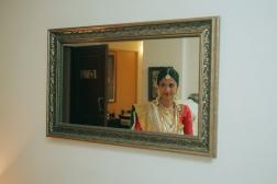 Wedding - Malyali bride candid picture - Anasuya Wedding Wardrobe