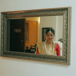 Wedding - Malyali bride candid picture - Anasuya Wedding Wardrobe
