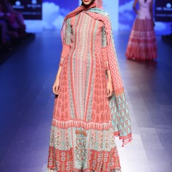 4 Blue & red print suit | Anita Dongre Love Notes | Lakme Fashion Week 2016