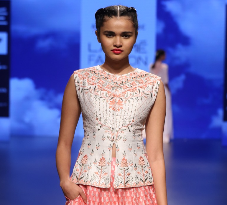 Blouse 1 | Anita Dongre Love Notes | Lakme Fashion Week 2016