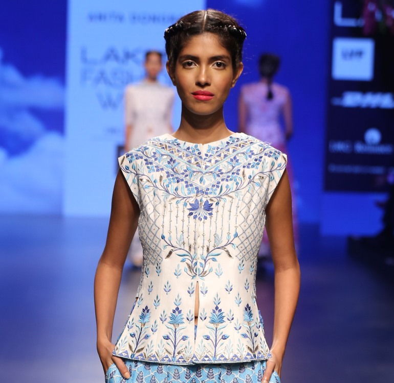 Blouse 2 | Anita Dongre Love Notes | Lakme Fashion Week 2016