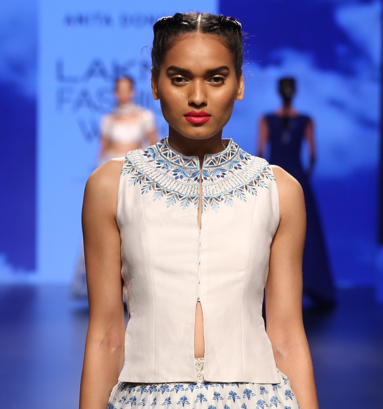 Blouse 5 | Anita Dongre Love Notes | Lakme Fashion Week 2016