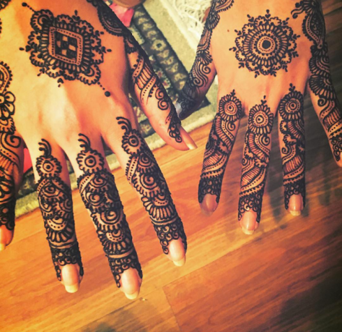 Bride Beyond Borders Part 3 mehendi on hands