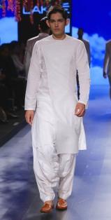 Menswear Achkan style kurta with salwar   Anita Dongre Love Notes   Lakme Fashion Week 2016