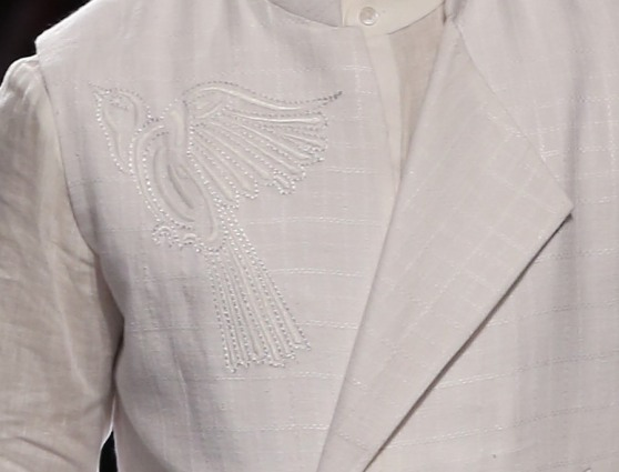 Menswear - Embroidery Details 3 | Anita Dongre Love Notes | Lakme Fashion Week 2016