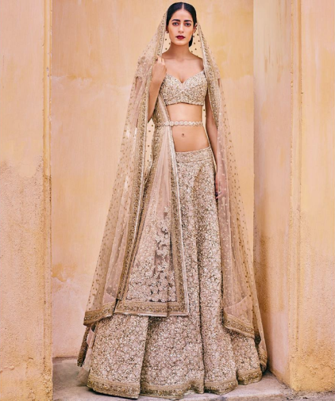 Ivory & pastels - Sabyasachi Spring Summer Weddings 2016 collection