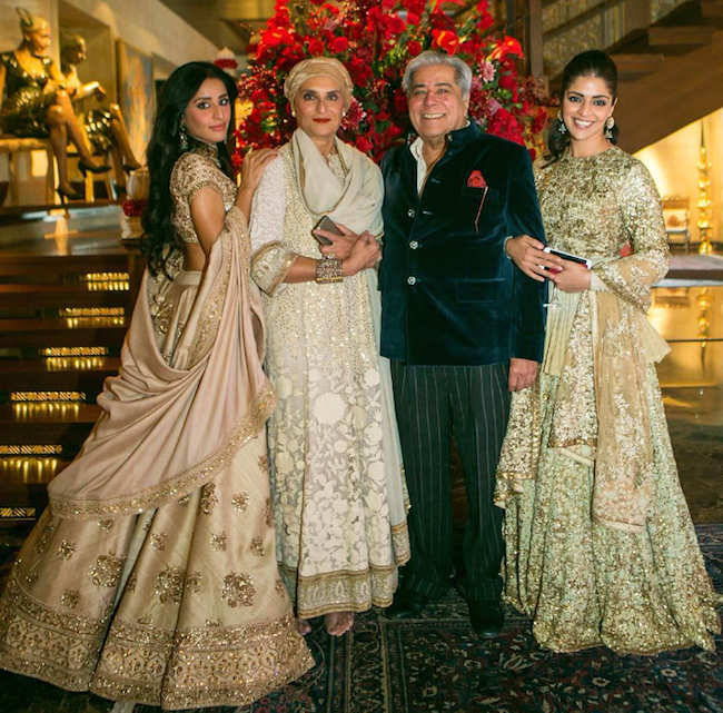 Sabyasachi bride in ivory silk lehenga from 2016 wedding collection