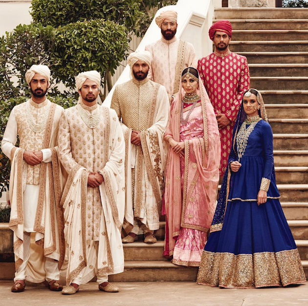Sabyasachi Spring Summer Wedding 2016 collection blue 5