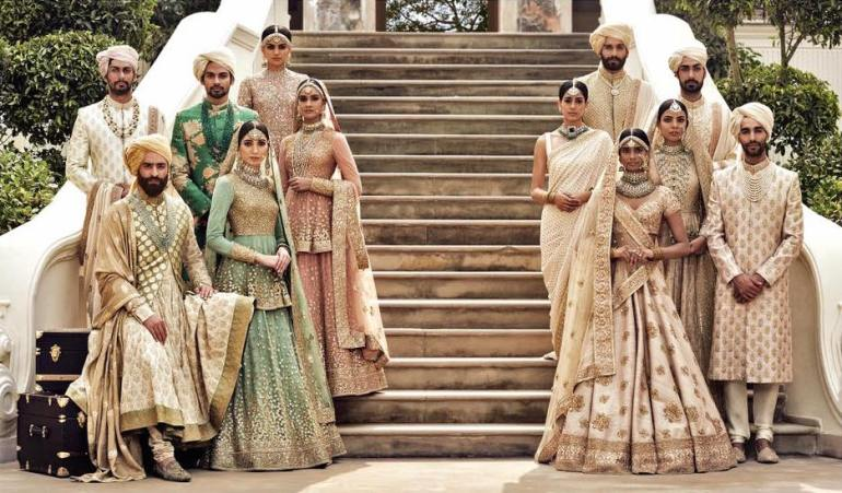 Sabyasachi Spring Summer Wedding 2016 collection ivory & pastels 1