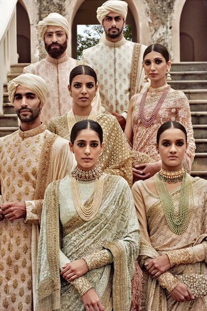 Sabyasachi Spring Summer Wedding 2016 collection ivory & pastels 2