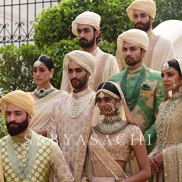 Sabyasachi Spring Summer Wedding 2016 collection ivory & pastels 4