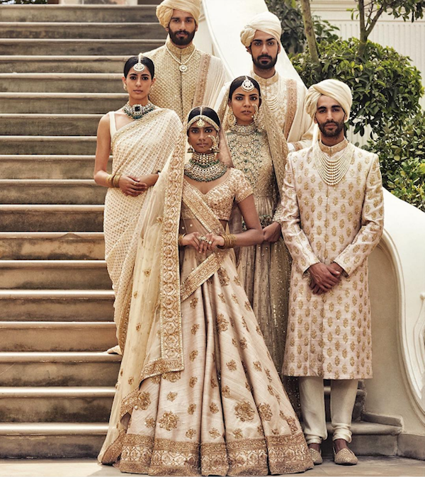 Sabyasachi Spring Summer Wedding 2016 collection ivory & pastels 5
