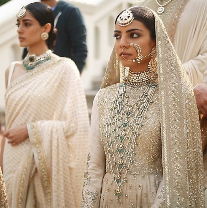 Sabyasachi Spring Summer Wedding 2016 collection ivory & pastels 9