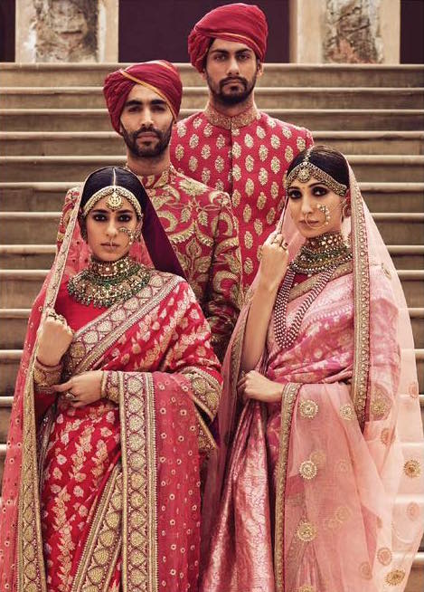Sabyasachi Spring Summer Wedding 2016 collection reds 1