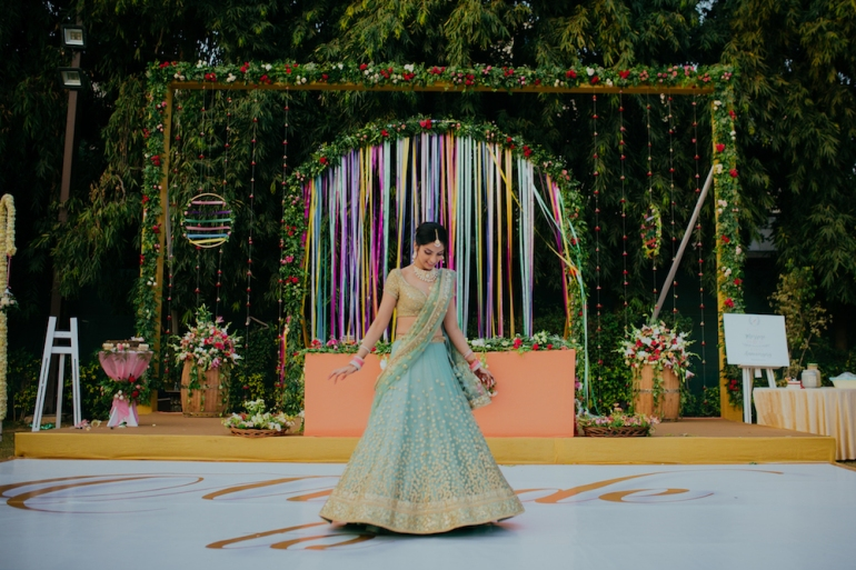 Mansha Gautam Real Wedding