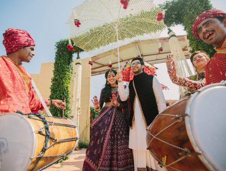 thedelhibride Indian weddings blog House on the Clouds